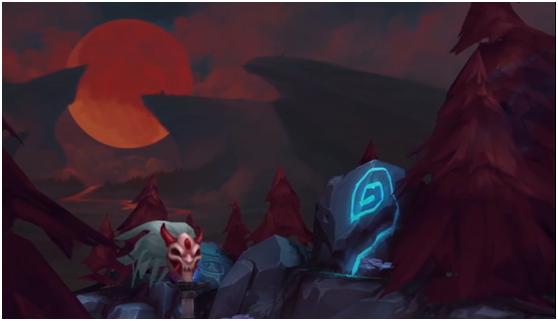 """这几个英雄是谁?拳头放出""""腥红之月""""事件预告"""